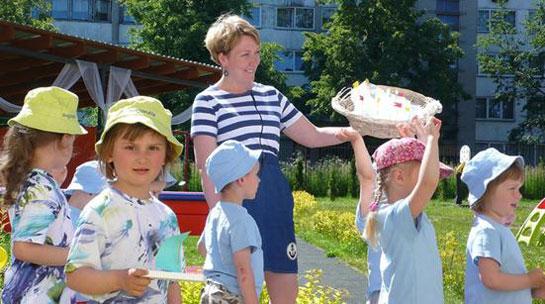 Darbas su vaikais